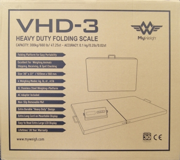 My Weigh VHD3 300kg/100g